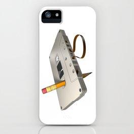 audio cassette /Marek/ iPhone Case