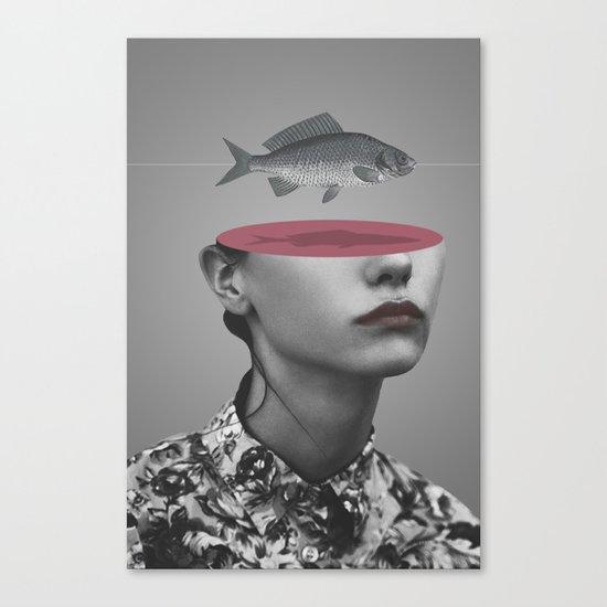 Fishing Line (2011) Canvas Print