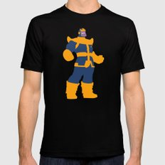 The Overmaster (Thanos) LARGE Mens Fitted Tee Black