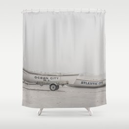 New Jersey Lifeboats Shower Curtain