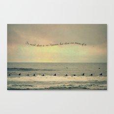 Pieces of Heaven Canvas Print