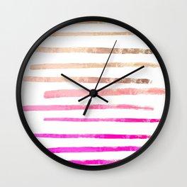 SURI PINKISH Wall Clock