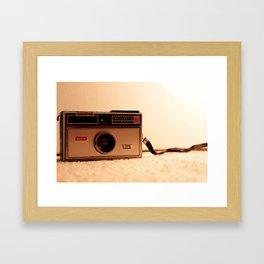 Click. Framed Art Print