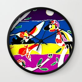 Bird Chorus        by Kay Lipton Wall Clock
