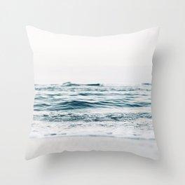 Ocean, waves Throw Pillow