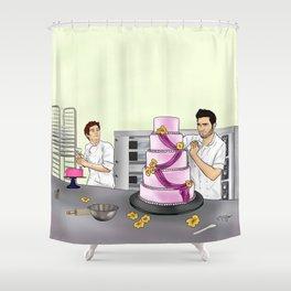 Baker Sterek Shower Curtain