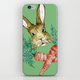 Born to be Bunny iPhone Skin