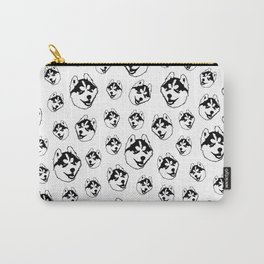 GIFTS FOR THE HUSKY DOG LOVER FOR YOU FROM MONOFACES IN 2021 Carry-All Pouch