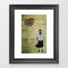 Sub-Zero Girl Framed Art Print