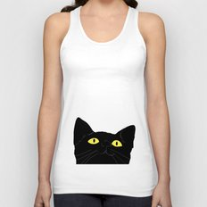 meow cat Unisex Tank Top