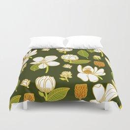Sweet Magnolia Duvet Cover