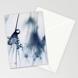 dandelion - blue Stationery Cards