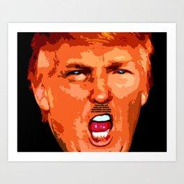 Donald J. Trump Art Print