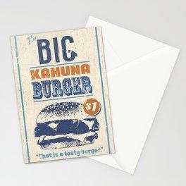 Big Kahuna Burger Stationery Cards