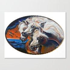 The Pharoah's Horses Canvas Print