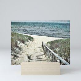Saugatuck Beach Mini Art Print