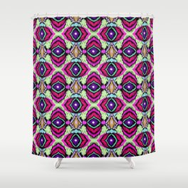 Ethnic ornament 2 Shower Curtain