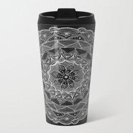 Zendala - Zentangle®-Inspired Art - ZIA 50 Metal Travel Mug