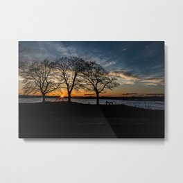 Dusk at The Willows Metal Print