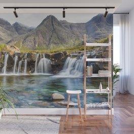 Waterfalls Pond Wall Mural