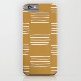 hatches –saffron iPhone Case
