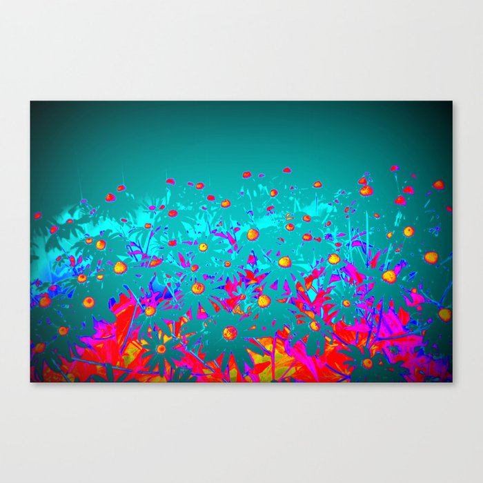 Faerie Garden Vignette | Flower | Flowers | Canvas Print
