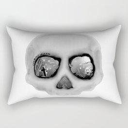 sleeping less every night Rectangular Pillow