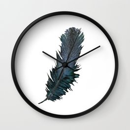 Feather - Enjoy the difference! Wall Clock