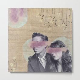 Feminine Collage IV Metal Print