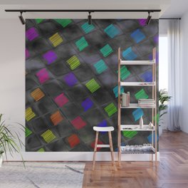 Square Color Wall Mural