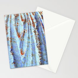 Caryatid in Blue Stationery Cards