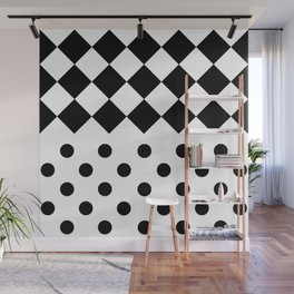 INDOOR (BLACK-WHITE) Wall Mural