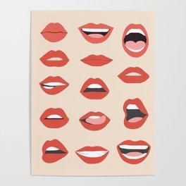 Lips III Poster