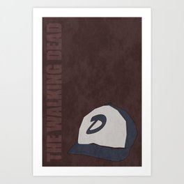 The Walking Dead game: Clementine's hat Art Print