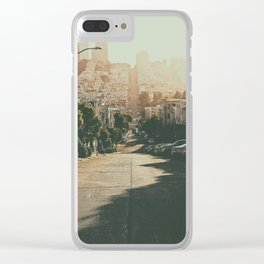 San Francisco-The Hills Clear iPhone Case