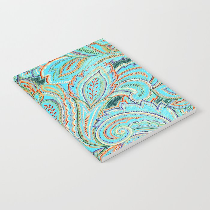 paisley, paisley Notebook