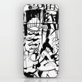 Gentleman - b&w iPhone Skin