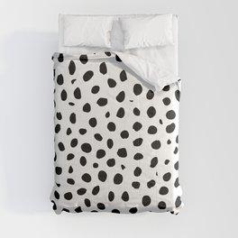 Black And White Cheetah Print Comforters