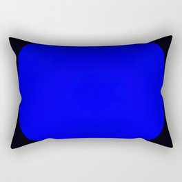 blue hole Rectangular Pillow