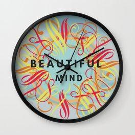 Beautiful Mind Wall Clock