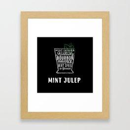 Mint Julep by Stephen Fowler Framed Art Print