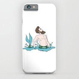 Majestic Mer Man 8 iPhone Case