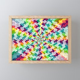 Hypnotic Framed Mini Art Print