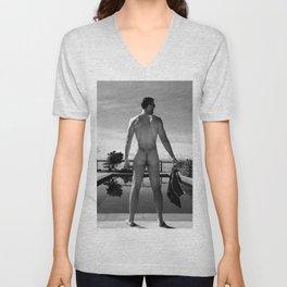 Swim Naked Unisex V-Neck