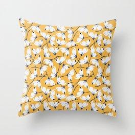 Flores de cerezo Throw Pillow