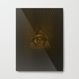 Eye of Providence Metal Print
