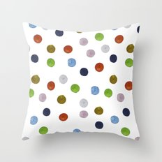 Pinpoint Dots Throw Pillow