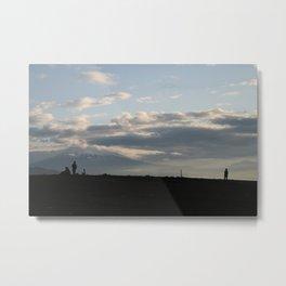 Mount Fuji From Miho  TWO Metal Print