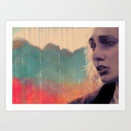 Blue sense8 Art Print