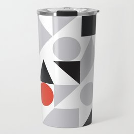 Geometric 7 Travel Mug